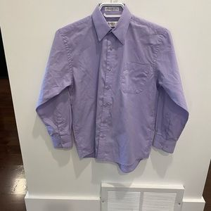 Size 12 boys button down shirt by Robert Allen - worn once - perfect condition